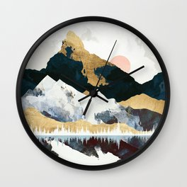 Winters Day Wall Clock
