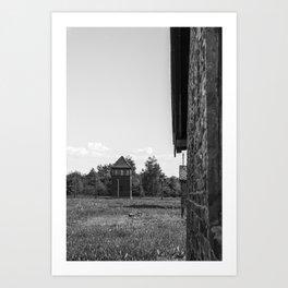 Birkenau Art Print
