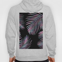 Iridescent Summer Palm Leaves Hoody