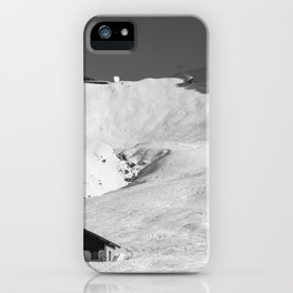 Mountain Huts, Alps, Arcs iPhone Case