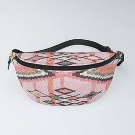Traditional Oriental Moroccan Carpet Fanny Pack