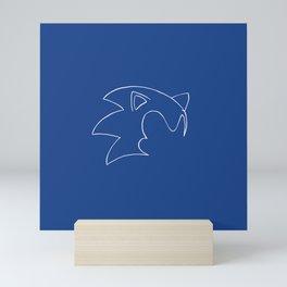 Sonic Mini Art Print
