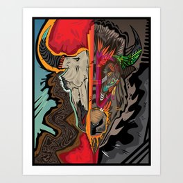 Western Apparition Art Print