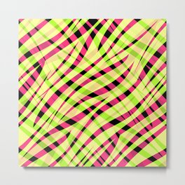 Abstract, multicolor 1 Metal Print