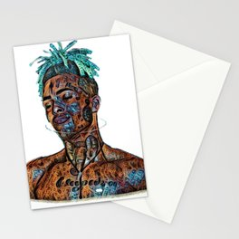 Tentacion Blue Stationery Cards