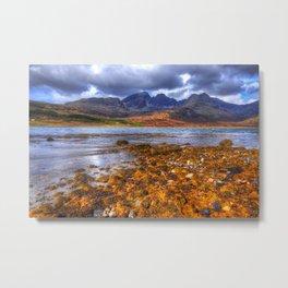 Loch Slapin, Isle of Skye Metal Print