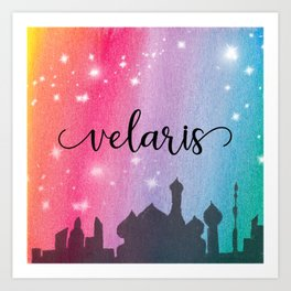 Velaris City Scape Art Print