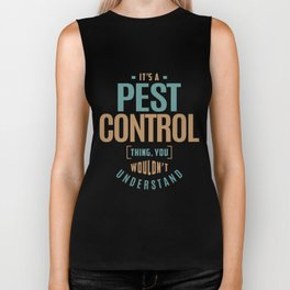 Pest Control Biker Tank