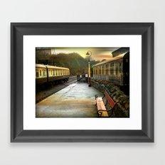 All Aboard! Framed Art Print