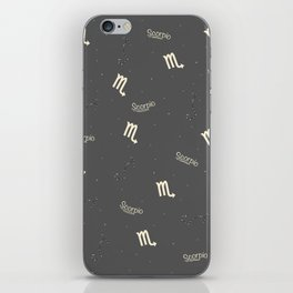 Scorpio Pattern iPhone Skin