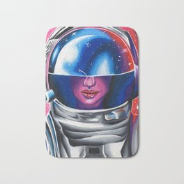 Astrogirl Bath Mat