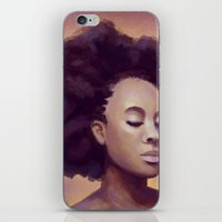 goddess iPhone & iPod Skins featuring Goddess by Studio Sienna