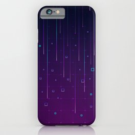 Pixelrain Video Games Inspired Pattern iPhone Case