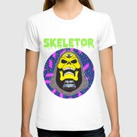 skeletor T-shirts featuring Skeletor by Michael Keene