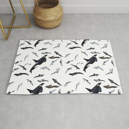 Dolphins all around Rug