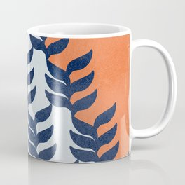 Colorful design with plants Coffee Mug