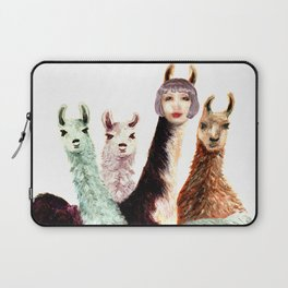 Alison and the Llama Sisters Laptop Sleeve