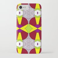 hot fuzz iPhone & iPod Cases featuring Purple Fuzz  by KcD Culture