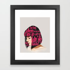 Songs VI.  Framed Art Print