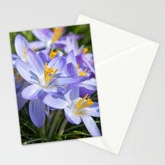 Crocus Flowers Stationery Cards