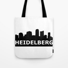 Heidelberg Skyline Tote Bag