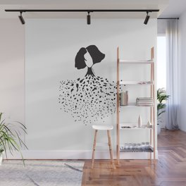 exploded soul Wall Mural