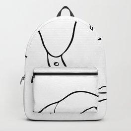 Labrador Retriever Surprised Drawing Backpack