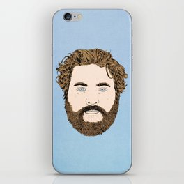Zach Galifianakis iPhone Skin