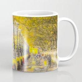 River Thames Path Watercolour Coffee Mug