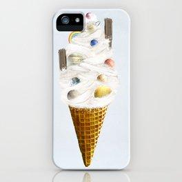 galaxy cone iPhone Case