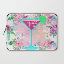 Neon Cocktail Tropics Laptop Sleeve