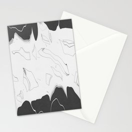 Artistic Shaped Scan Stationery Cards