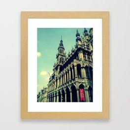 Bruxelles-Brussels Framed Art Print