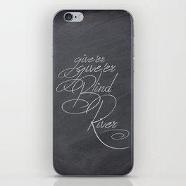 Give'er Give'er! iPhone Skin