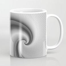 The Big Wave Spiral in Monochrome Mug