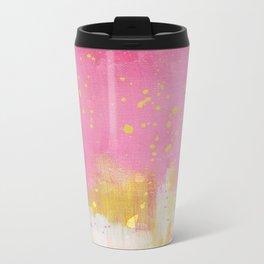Pinkish Metal Travel Mug