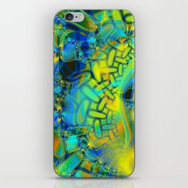 Abstract Layering iPhone Skin