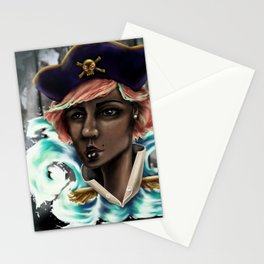 Captain Squid Lips Marque Stationery Cards