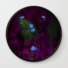Please, don´t forget me Wall Clock