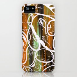 Dirty Laundry iPhone Case