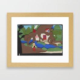 King's Quest IV: The Perils of Rosella Framed Art Print