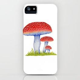 Woodland Toadstools iPhone Case