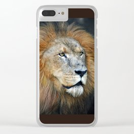 The Lion of Judah Clear iPhone Case