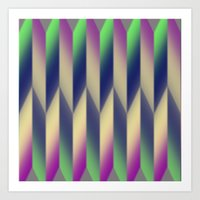 Pattern Wear 18 Art Print
