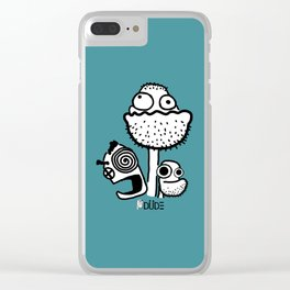Bro's Clear iPhone Case