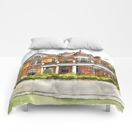 Stately Manor House Comforters