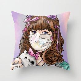 Self Portait -Decora Throw Pillow