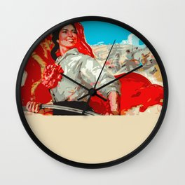 CHINESSE COMMUNIST  PROPAGANDA  Wall Clock