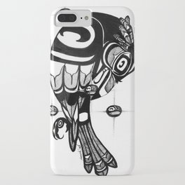Raven Steals the Stars iPhone Case