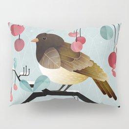 Bird, Watching Pillow Sham